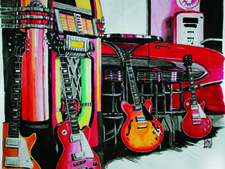 Gitarregibsonklein