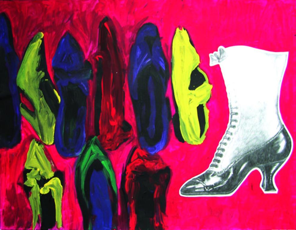 Galerie portait malerei zeichnung illustration karina